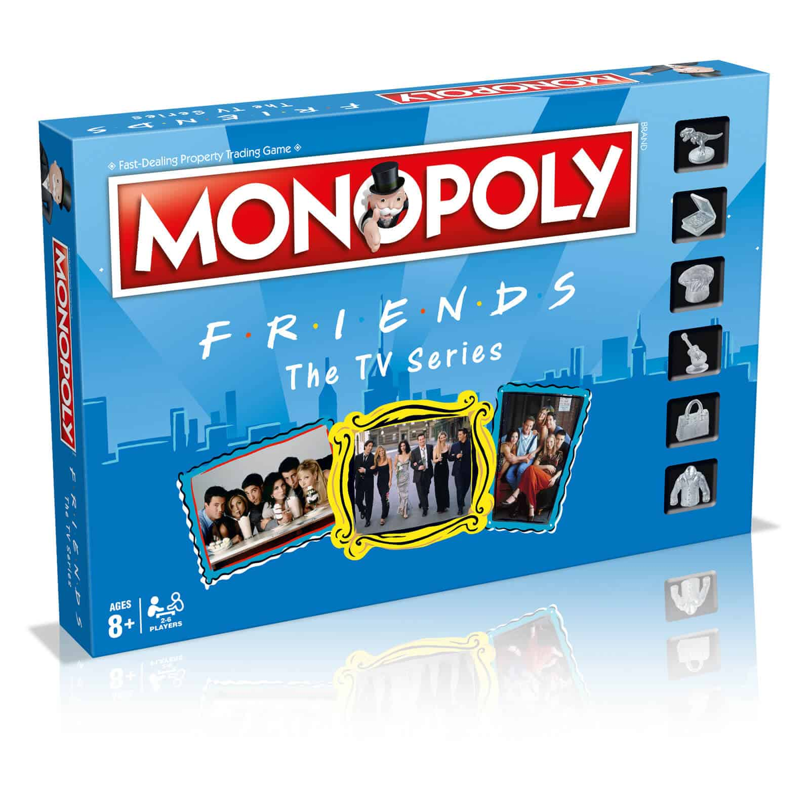 friends themed monopoly